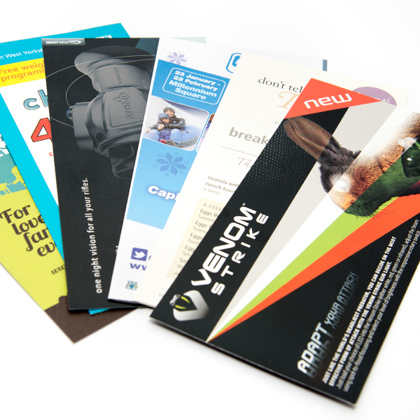 DL Double Sided Leaflets
