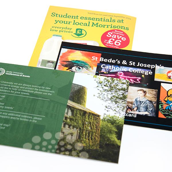 A6 Single Sided Leaflets