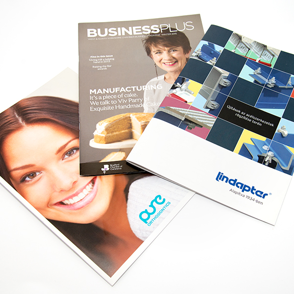 A4 Brochure 130gsm Throughout