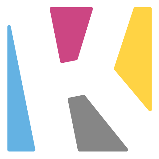 Transparent K logo