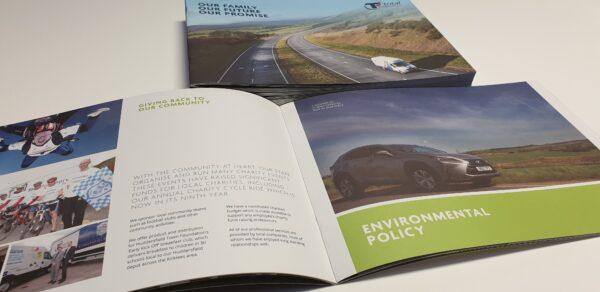 Landscape A4 Booklets